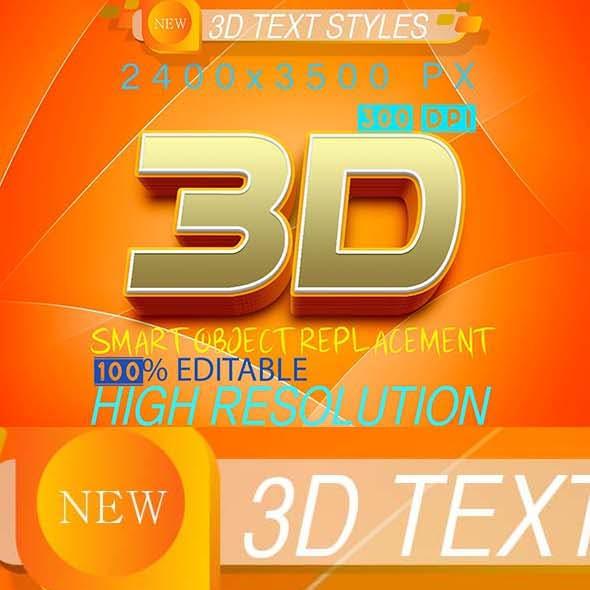 3D Text Effect 261020