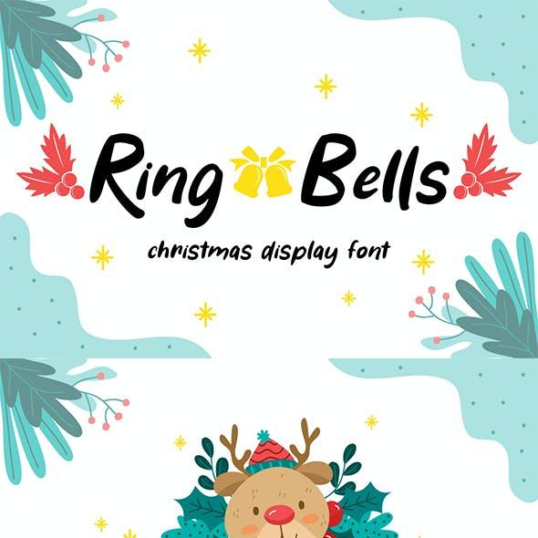 Ring Bells - Christmas Font