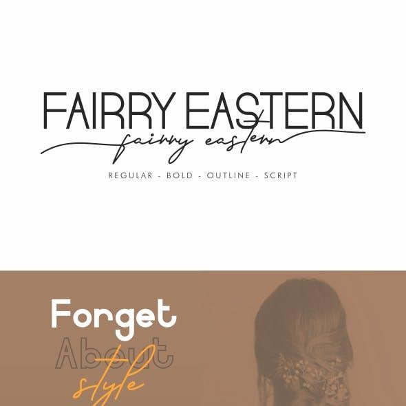 Fairry Eastern Sans Serif Font Duo