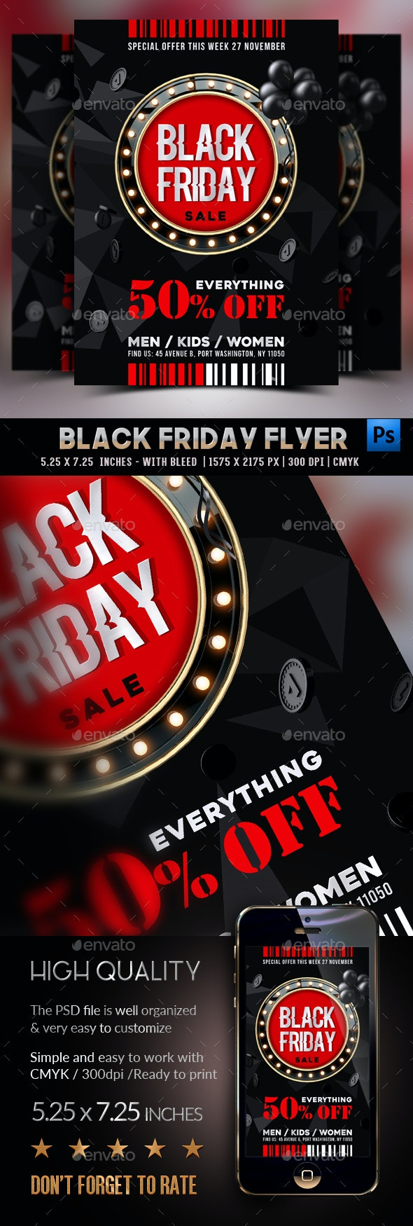 Black Friday Flyer - Commerce Flyers