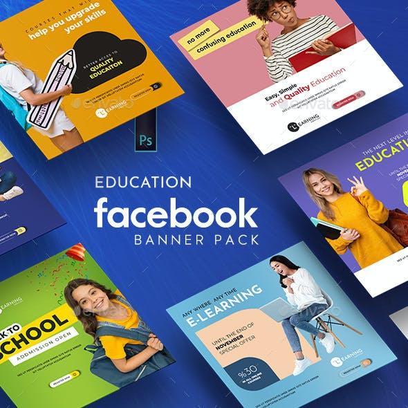 Education Banner Pack