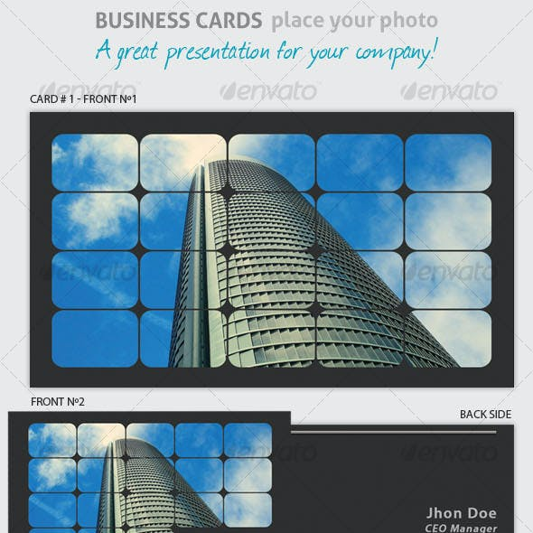 Business Card - Place Your Photo!