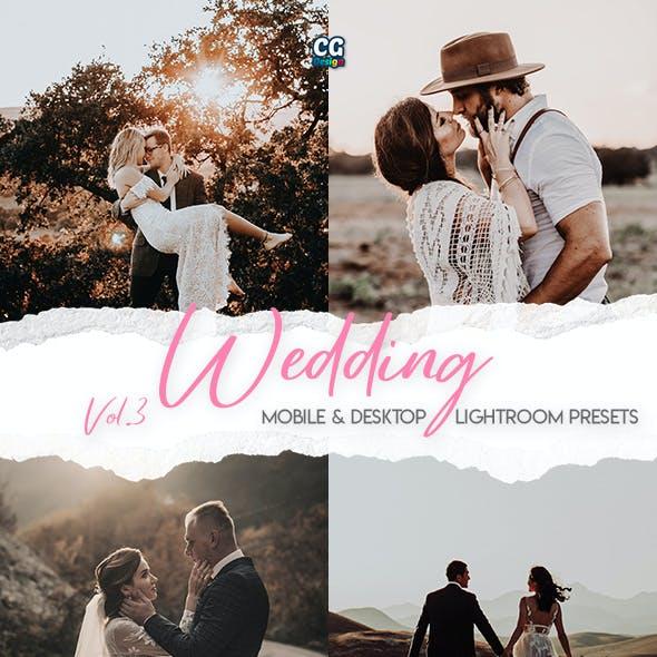 Wedding Lightroom Presets Vol. 3