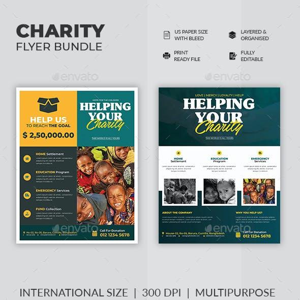 Charity Flyer Bundle