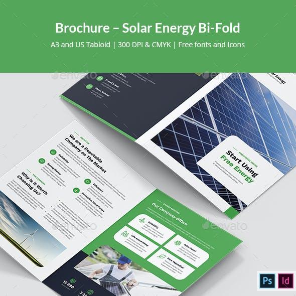 Brochure – Solar Energy Bi-Fold