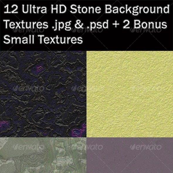 12 Ultra HD Stone Textures + 2 Bonus Mini Textures