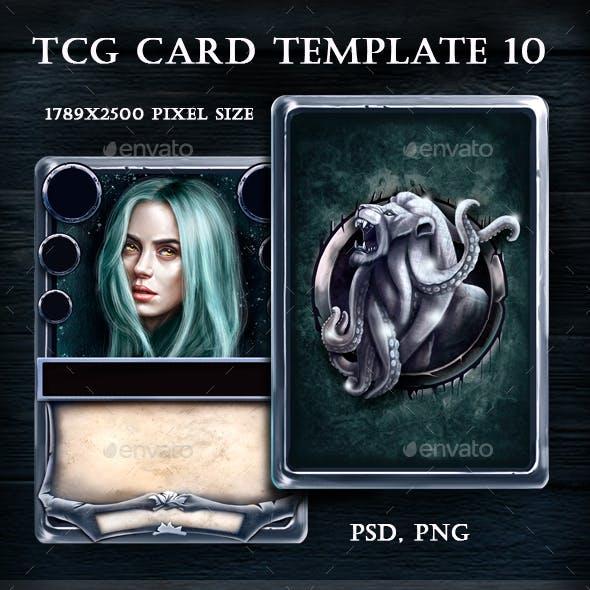 TCG Card Template 10
