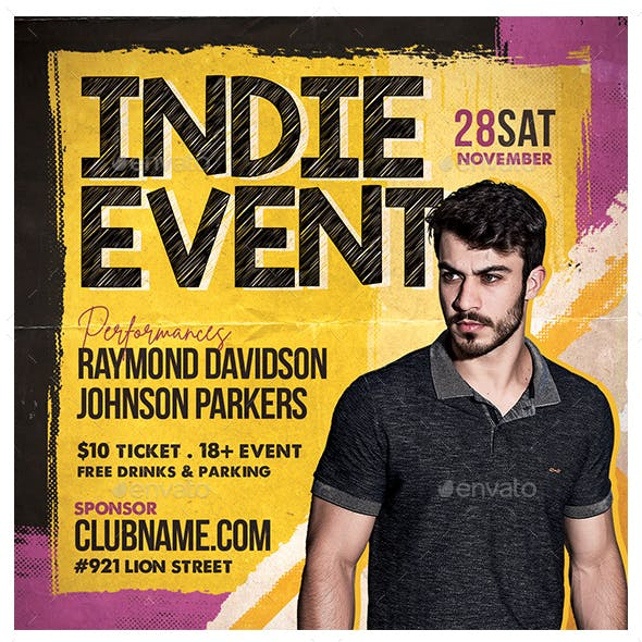 Indie Event Flyer