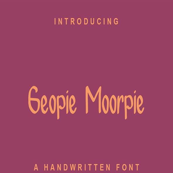 Geopie Moorpie
