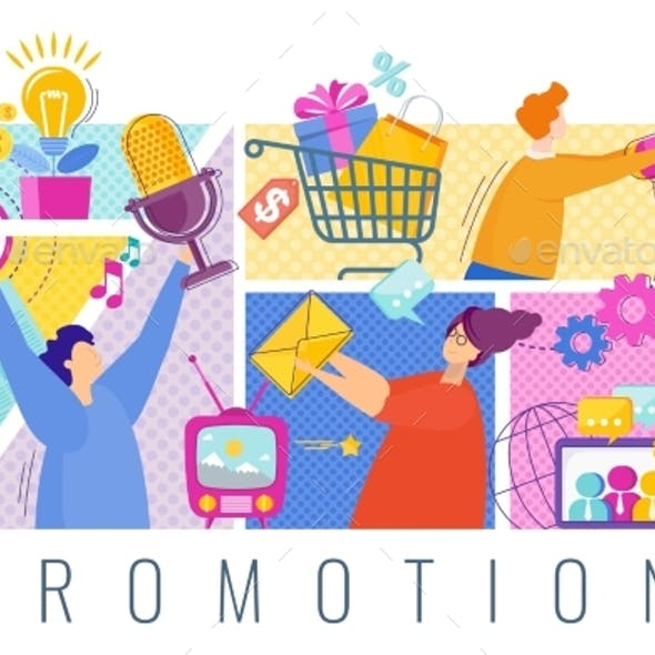 Promoters Advertise a Company or Product