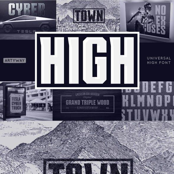 Universal High Font