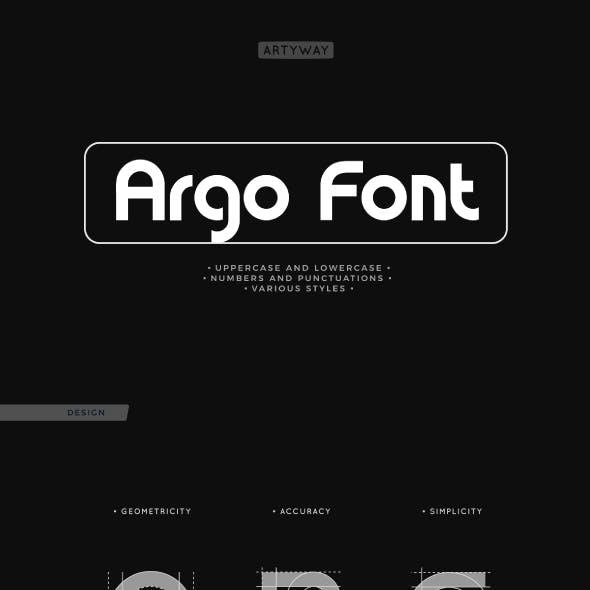 Argo Awesome Typeset