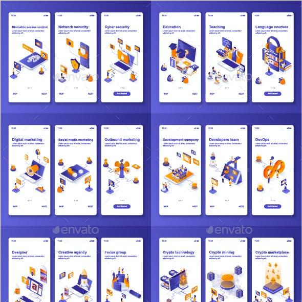 Instagram Stories Mobile App Kit
