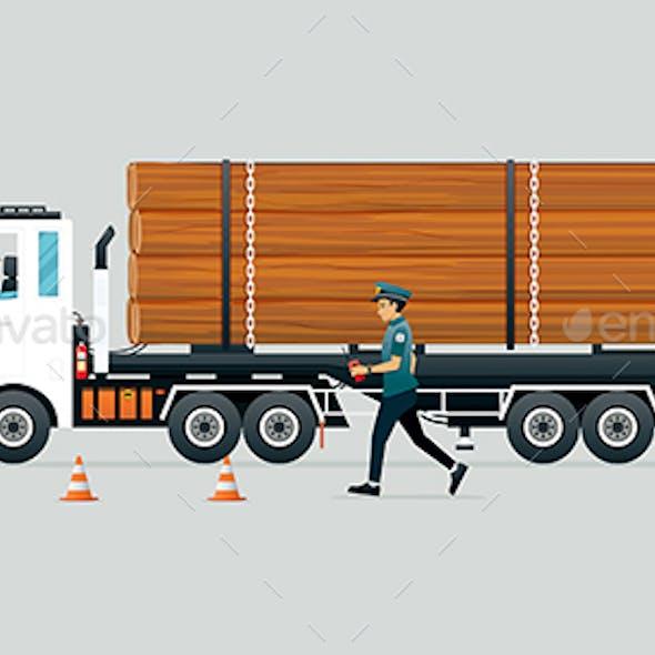 Police Arrest Illegal Timber