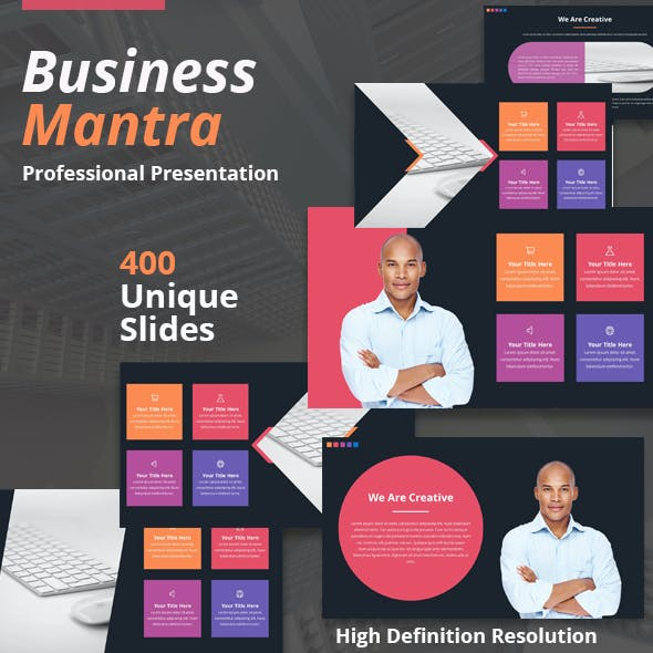 Business Mantra Powerpoint Template