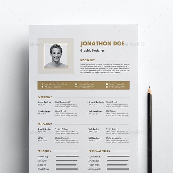 The Resume