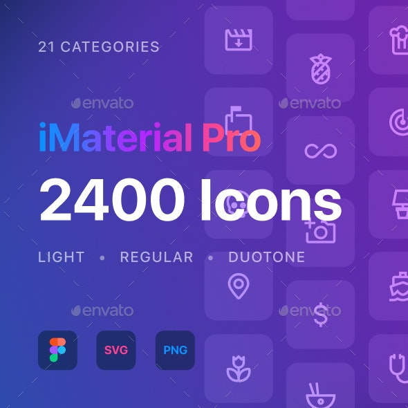 iMaterial Pro Icons - Miscellaneous Icons