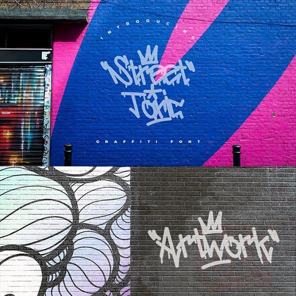 Street Toxic | Cool Graffiti Font