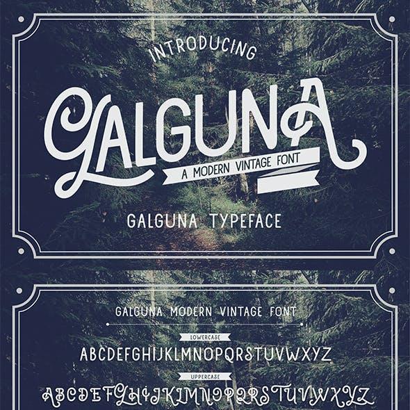 Galguna - Vintage Script Font