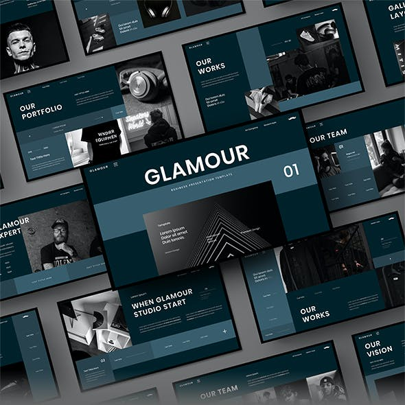 Glamour – Business Google Slides Template