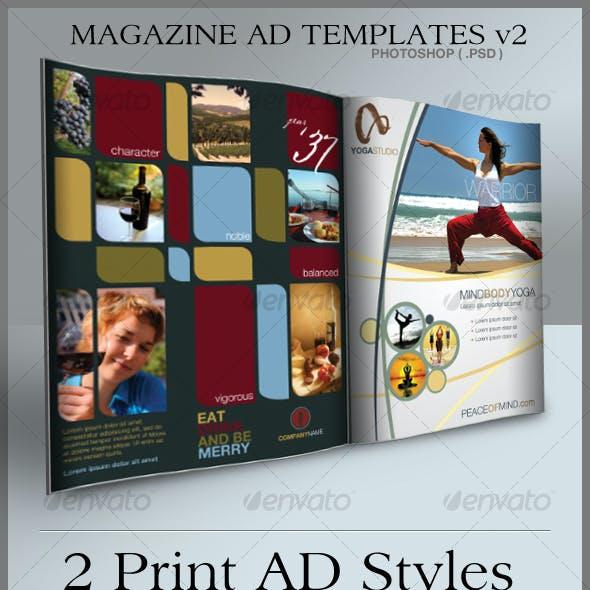 Print Ad Templates v2