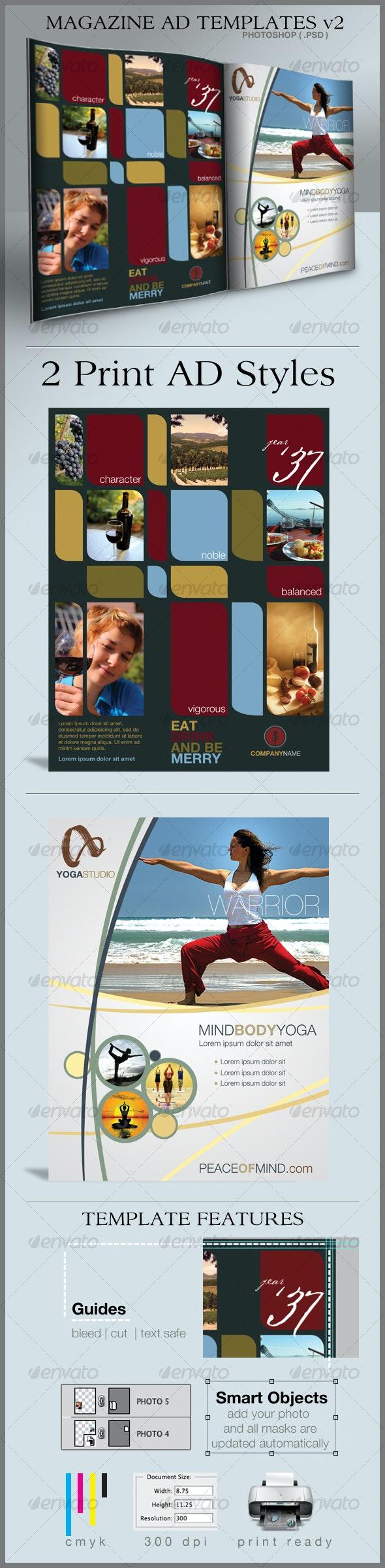 Print Ad Templates v2 - Commerce Flyers