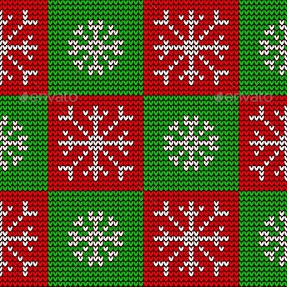 Christmas Knitted Seamless Ornament