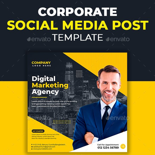Digital Marketing Social Media Post