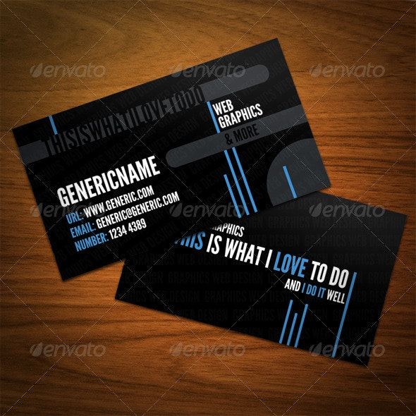 Modern Styled Business Card - Corporate Business Cards