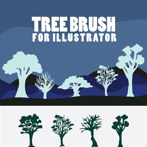 Tree Brushes For Illustrator