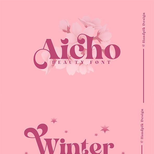Aicho Beauty Font
