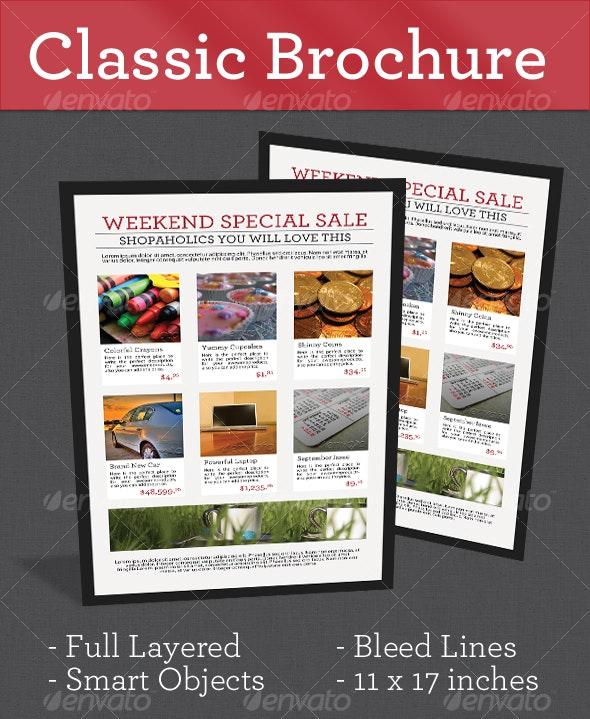 Classic Brochure - Corporate Brochures