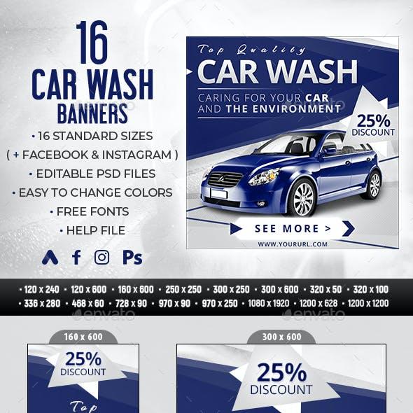 Car Wash Banners