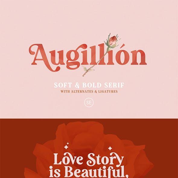 Augillion - Soft Bold Serif
