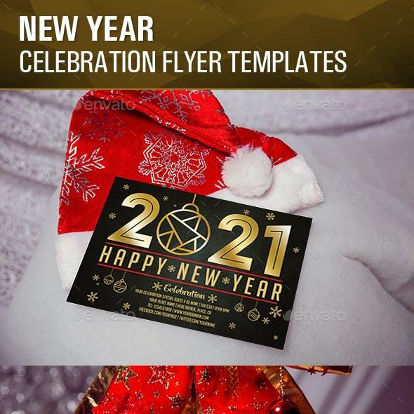 New Year Celebration Flyer Templates