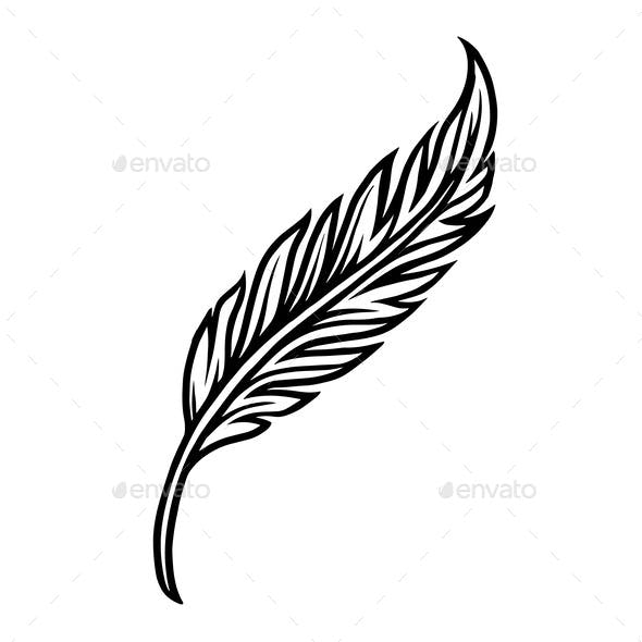 Vintage Feather