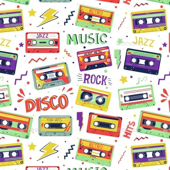 Cassette Pattern - Miscellaneous Vectors