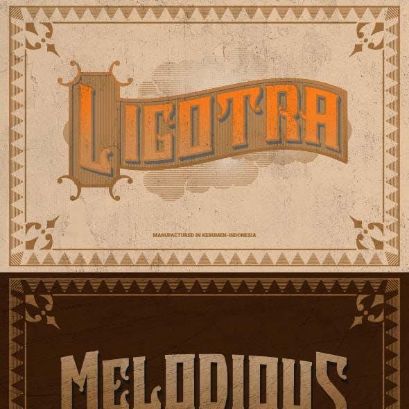 Ligotra - Vintage Font
