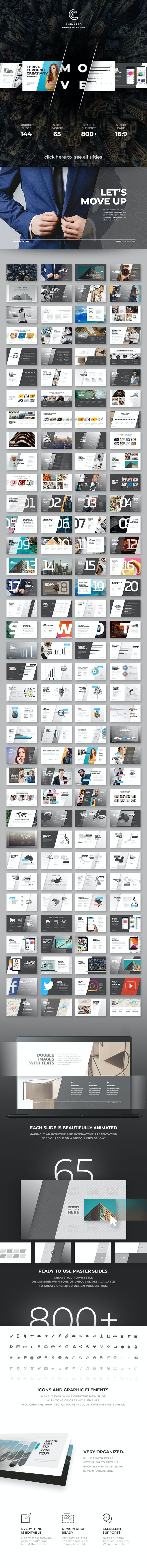 Move Keynote - Keynote Templates Presentation Templates