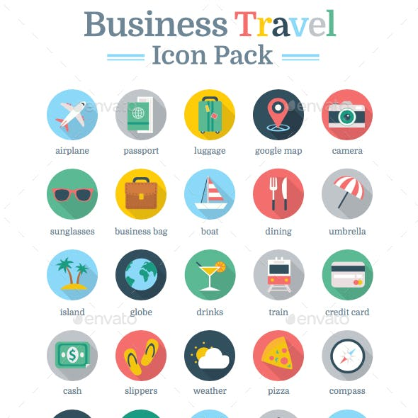 Business & Leisure Gamification Icon Pack