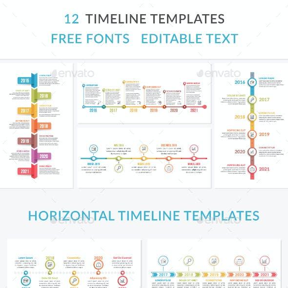 12 Timeline Templates