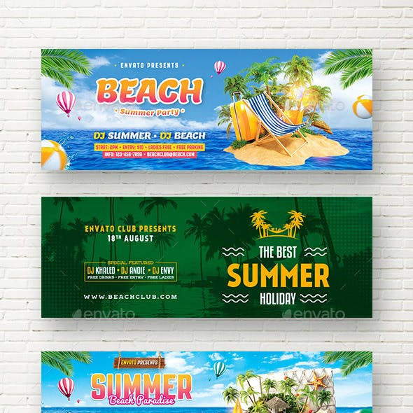 Summer Web Sliders