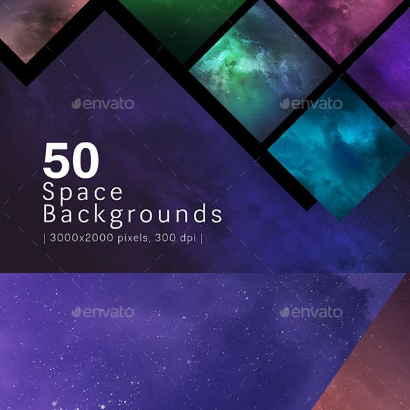 50 Space Backgrounds