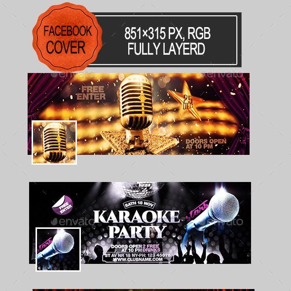 Karaoke Facebook Banners
