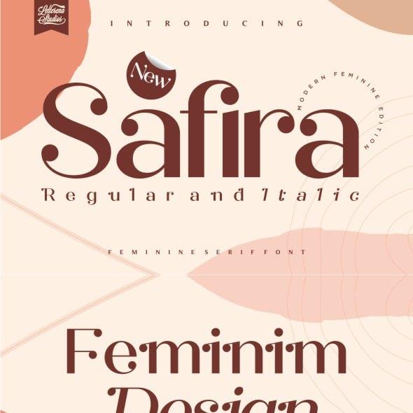 Safira - Modern Feminine Serif Font