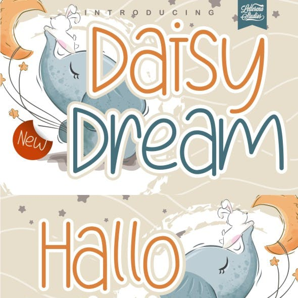 Daisy Dream - Crafting Kids Font