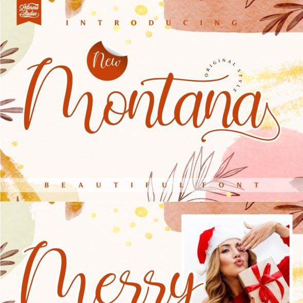 Montana - Beautiful Font