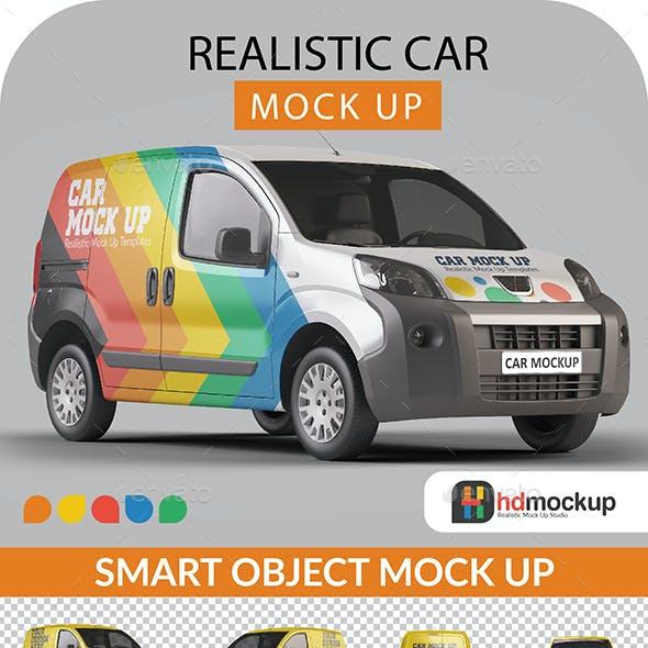 Photorealistic Panelvan Mock Up - 001