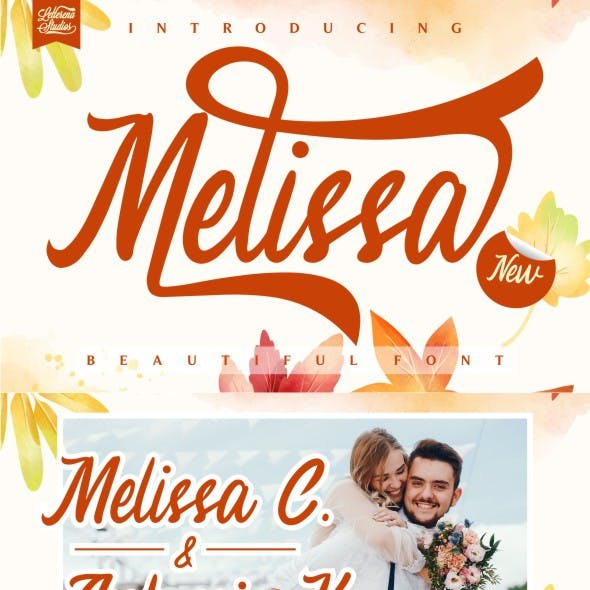 Melissa - Beautiful Luxury Font