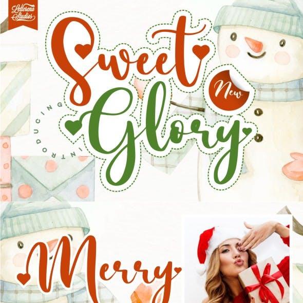 Sweet Glory - Beautiful Script Font